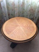 Vintage LANE Round Mid Century Table - Style # 1051 38 - 1964 - Rare EUC