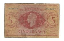 French Equatorial Africa - 1944, 5 Francs