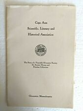 Cape Ann Scientific, Literary and Historical Association (1952)