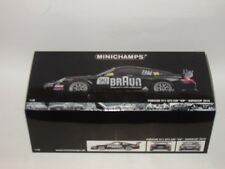 """Minichamps Porsche 911/997 gt3 Cup marrón """"v.i.p. Supercup 2010"""", 1:18 OVP nuevo/new"""