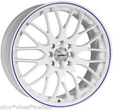 "15"" WB MOTION ALLOY WHEELS FITS 4x100 PEUGEOT PROTON RENAULT MODELS"