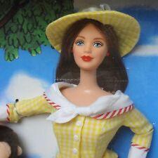 Barbie Coleccionistas 2000 Jorge el curioso Muñeca Barbie Menta en caja usada ligeramente