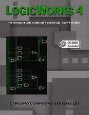 LogicWorks 4 : Interactive Circuit Design Software (1998, CD-ROM / Paperback)