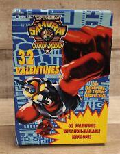 Superhuman Samurai Syber Squad 32 Valentines Pack - New
