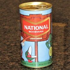 "National Bohemian ""Cartoon Can"" Replica / Novelty beer can, paper label"