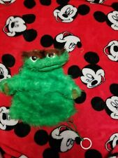 Vintage furry OSCAR THE GROUCH Jim Henson Muppet Puppet Sesame Street 1970