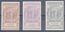 REGNO - 1923 - Camice Nere - Serie completa (147/149) - MH
