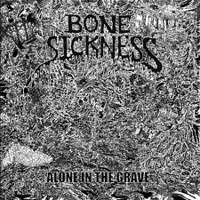 Bone Sickness - Alone In The Grave LP - DeathMetal/Grindcore - NEW COPY