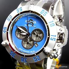 Invicta Subaqua Noma III Stainless Steel Chronograph Blue 50mm Watch New