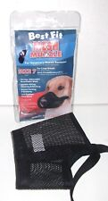 """Best Fit Mesh Muzzle Size 7 Large Breeds (9 1/2"""" Nose Circumference)"""