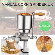 Corn Wheat Grinder Cast Iron Big Hopper Grain Manual Grinder Home Commercial New