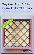 Chevy Cruze Air Filter 2011-2015 1.8L ONLY!!! AF6163 Super Fast Ship!!!