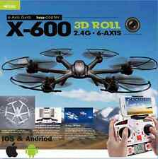 MJX X600 2.4G 6 Axis 3D Roll RC Quadcopter Helicopter Drone Headless Mode Black