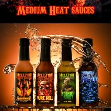 New listing Hellfire Hot sauce 4 pack