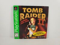Tomb Raider II Starring Lara Croft (Sony PlayStation 1 1997) Manual Only No Game