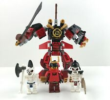 Lego Ninjago Samurai Mech In Good Used Condition + FREE Polybag + Gift!