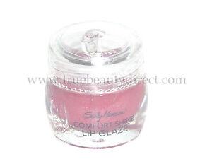 SALLY HANSEN COMFORT SHINE LIP GLAZE LIPGLOSS SWEET RASPBERRY & APPLICATOR
