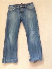 Tommy Hilfiger Homme Denim Jeans W36 - 27 To 29 in (environ 73.66 cm) Entrejambe-Torn & Effiloché