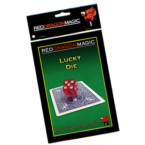 Lucky Die - Chance Prediction Magic Trick - Bicycle Card Stock