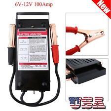 6V-12V 100A Car Van Auto Battery Tester Load Drop Charging System Analyzer Check