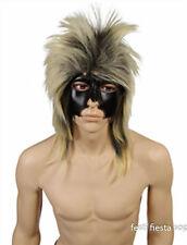 """Perruque blond gris """"Rock Star"""" avec racines foncées [36530] deguisement costume"""
