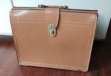 Vintage Prescott Leather Briefcase - Made In USA
