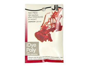 Jacquard iDye Poly Fabric Dye for Polyester & Synthetic Materials- Crimson