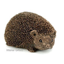 SMALL HEDGEHOG WALKING Frith Cold Cast Bronze Sculpture Thomas Meadows Wiggles