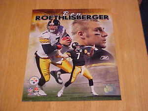 Ben Roethlisberger Steelers Portrait + LICENSED 8X10 Photo FREE SHIPPING 3/more