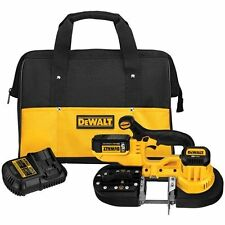 DEWALT DCS371P1 20-Volt Max Lithium-Ion 5.0 Ah Cordless Band Saw Kit