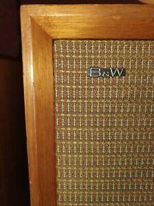 B&W DM3 vintage monitor loudspeaker BOWERS & WILKINS 60s Retro HiFi Speaker