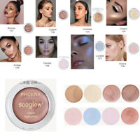 Hot PHOERA Highlighter Make Up Shimmer Cream Highlight Eyeshadow Glow Bronzer