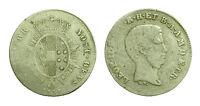 pci2717)  FIRENZE - Leopoldo II di Lorena (1824-1859) - 1 Paolo 1858