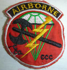 USA - Airborne Patch - US SPECIAL FORCES - CCC, Hatchet Team - Vietnam War, 7588