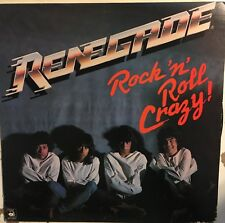 RENEGADE Rock 'N' Roll Crazy VG+ LP Private Press Allied Artists 1983 Metal