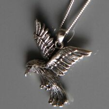 Sterling silver Eagle Pendant Necklace by Lepos Jewellery