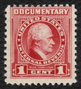 #R654 1c Documentary, Mint NH OG [2] **ANY 5=FREE SHIPPING**
