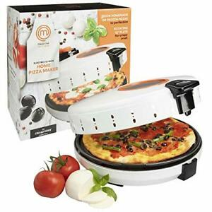 MasterChef Pizza Maker, Electric Rotating 12 Inch Non-stick Calzone Cooker.