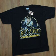 Salem Caricature Ray Bourque Black Shirt Size Large Boston Bruins DS NEW