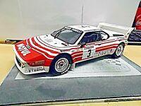 BMW M1 E26 Rallye Gr.B Tour de Corse Beguin 1983 Motul Resin otto RAR 1:18