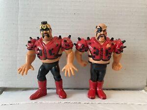 WWF Hasbro LOD Legion Of Doom Hawk Animal WWE Tag Team 1991