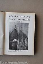 Memorie Diocesi Milano Umiliati Valsolda Bergamo Valtorta Val  Averara Lodi 1960