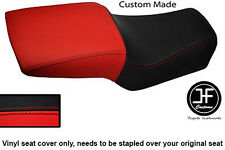 RED & BLACK VINYL CUSTOM FITS DUCATI SUPERSPORT 900 SS 1991-1998 SEAT COVER ONLY