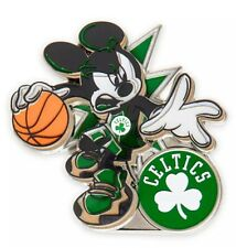Disney Mickey Mouse NBA Experience Boston Celtics Uniform Pin NEW
