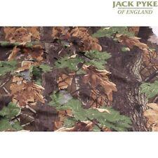 Jack Pyke Francotirador Camo ocultar Blind 4m X 1.5m inglés Oak Leaf Tiro Caza