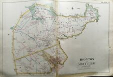 1887 BOONTON MONTVILLE TOWNSHIPS MORRIS COUNTY NEW JERSEY ATLAS MAP