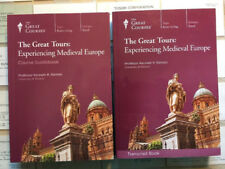 Great Courses Experiencing Medieval Europe 6 DVD set + books MINT