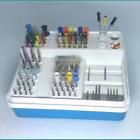 Dental Autoclavable Endodontic Endo Box Organizer For RA FG HP CARBIDE/DIAMOND
