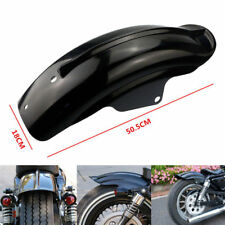 Rear Mudguard Fender For Harley Sportster Bobber Chopper Cafe Racer Black BS4