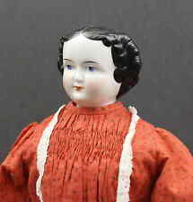 TALL ANTIQUE  CHINA  DOLL  -  'THE  LADY  IN  RED'